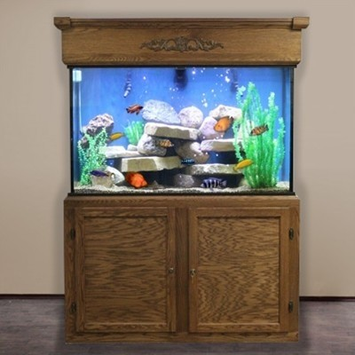 "110 Gallon* Glass Aquarium - 30""H x 48""L x 18""D"