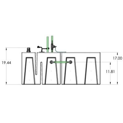 1BR-1RR Seamless Sump 3