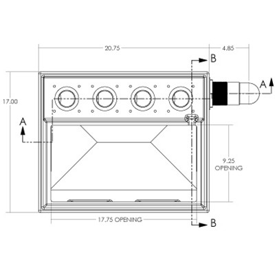 1S4B Seamless Sump Tub Configuration 5