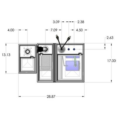 1SB-1B Seamless Sump Tub Configuration 4