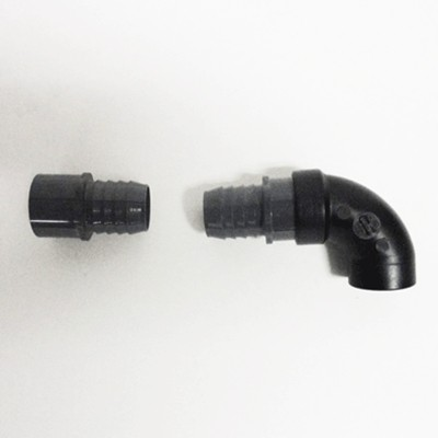 Aquarium Accessories - 2 Barb x Slip Coupler and 1 Elbow Kit