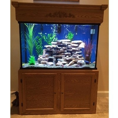 "65 Gallon* Glass Aquarium - 24""H x 30""L x 18""D"
