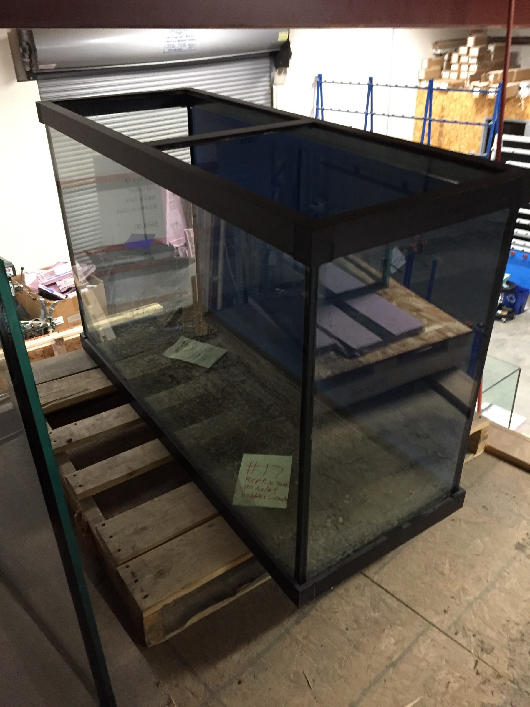 "110 Gallon* Glass Aquarium 30""H X 48""L X 18""D"