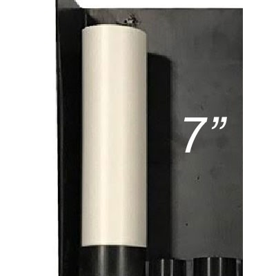 """7"""" PVC Pipe for Internal Plumbing Stealthbox"""