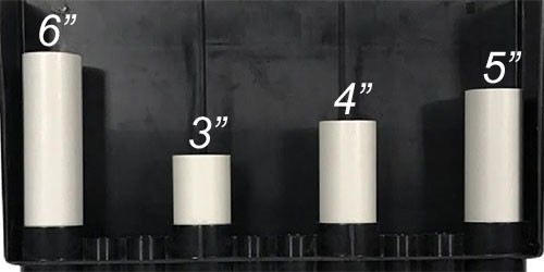 "6"" PVC Pipe for Internal Plumbing - Aquarium Overflow Box"