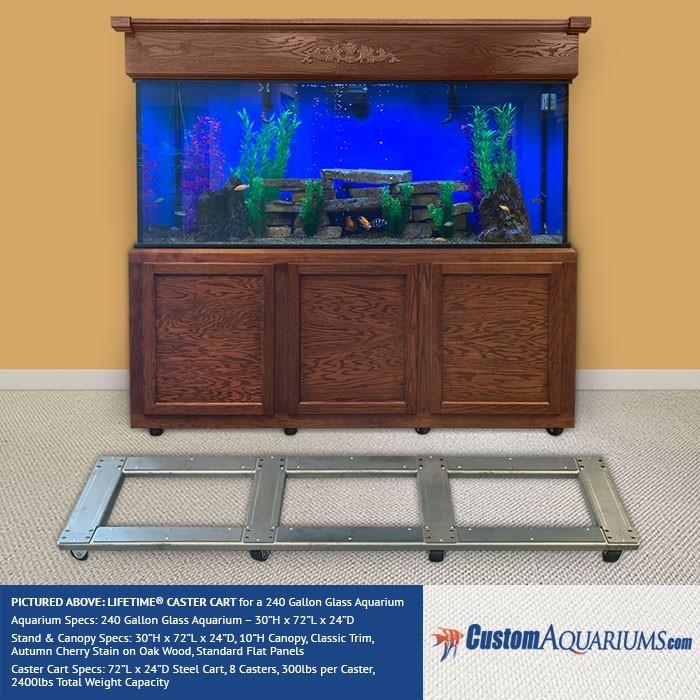 Majestic Aquarium Caster Carts