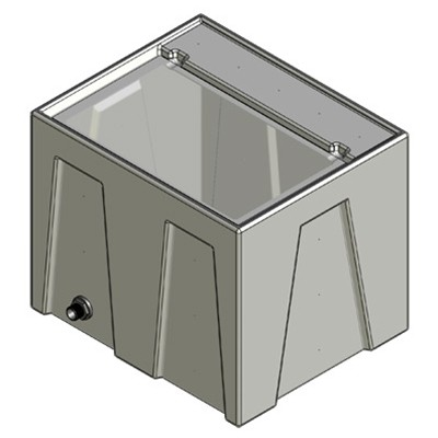 1RE Seamless Sump Tub Configuration 1