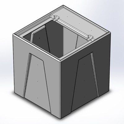 1RM Seamless Sump Tub Configuration 1
