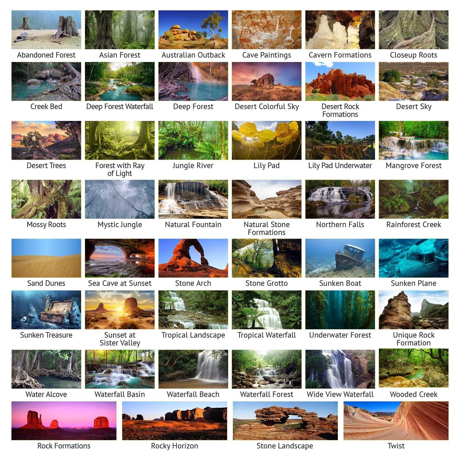 Horizontal Aquarium Picture Backgrounds