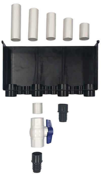 Aquarium Filters - Ultimate 2 Hole 2400GPH Plumbing Kit
