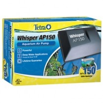 Aquarium Filters - Whisper 150 Deep Water Air Pump