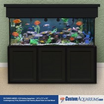 "150 Gallon* Glass Aquarium - 24""H x 72""L x 18""D"