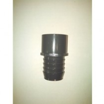 "1-1/2"" BARBED X SLIP COUPLER FITTING"