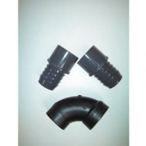 2 Barbed x Slip Coupler and 1 Elbow Kit