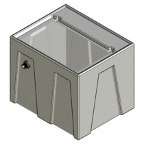 1RR Seamless Sump Tub Configuration 1