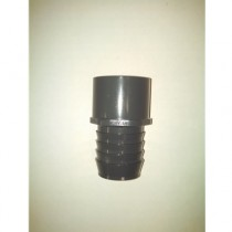 "Aquarium Accessories - 1-1/2"" Slip x Barb Coupler"