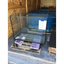 3 175 Gallon Glass Aquarium 36H X 48L X 24D - AS IS-Custom Aquariums-Scratch and Dent