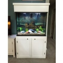 "75 Gallon* Glass Aquarium - 30""H x 30""L x 18""D"
