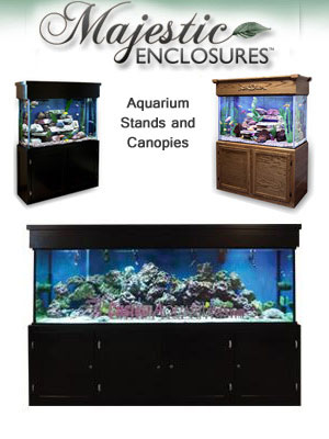 Majestic Aquarium Stands Canopies