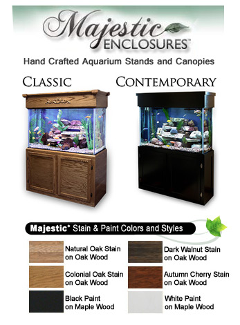Majestic® Aquarium Stands & Canopies