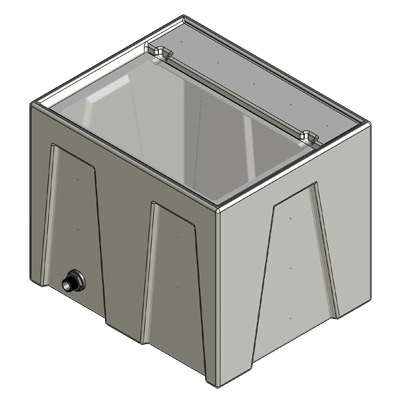 1RE Reservoir Tub