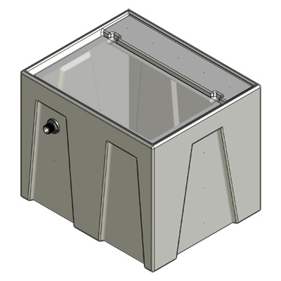 1RR Reservoir Tub